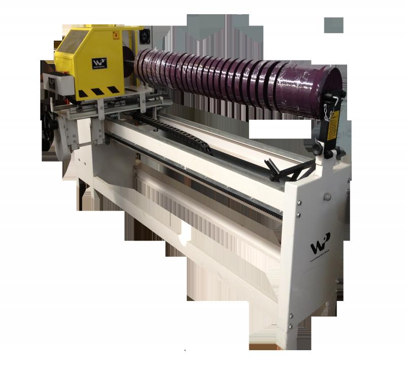 49ec76d01 Máquina para cortar os tecidos diretamente nos rolos - AC