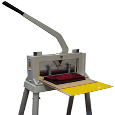 Máquina de corte manual de mostruário têxtil - C-AM-MAN