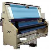 máquina inspeção medição acondicionamento tecido
