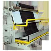 máquina revisar medir tecidos
